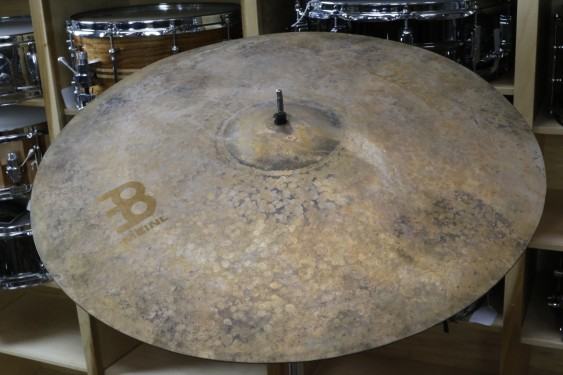 """Meinl Byzance Vintage 22"""" Pure Light Ride-Demo of Exact Cymbal-2505g"""