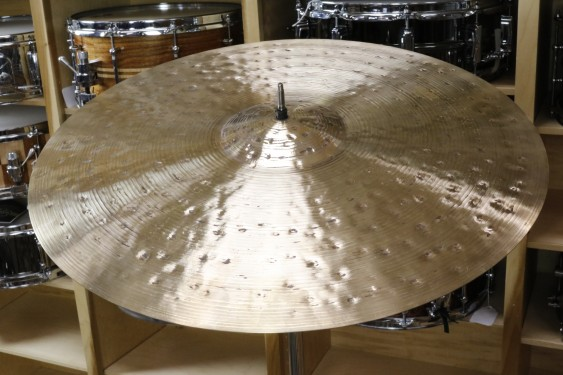 "Meinl 22"" Byzance Foundry Reserve Ride Cymbal-Demo of Exacy Cymbal-2614g"