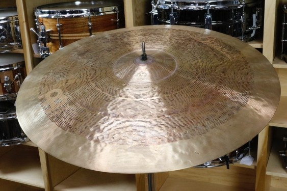 "Meinl Byzance Jazz 22"" Tradition Ride-Demo of Exact Cymbal-2632g"