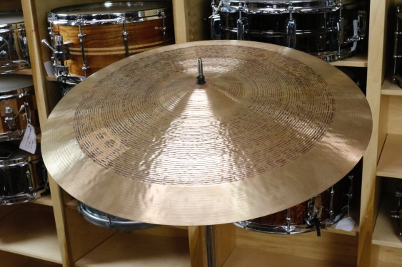 "Meinl Byzance 20"" Tradition Light Ride-Demo of Exact Cymbal-1692g"