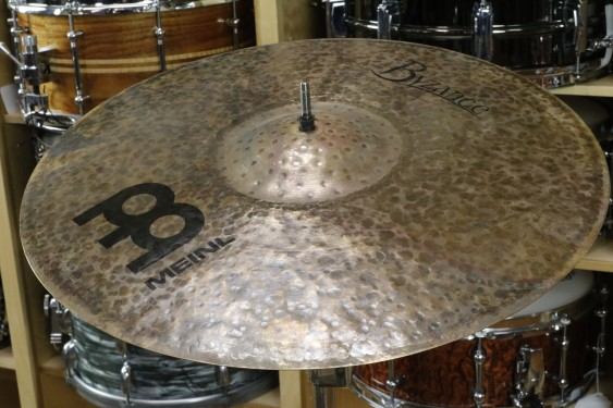 "Meinl Byzance Dark 18"" Crash Cymbal-Demo of Exact Cymbal-1275g"