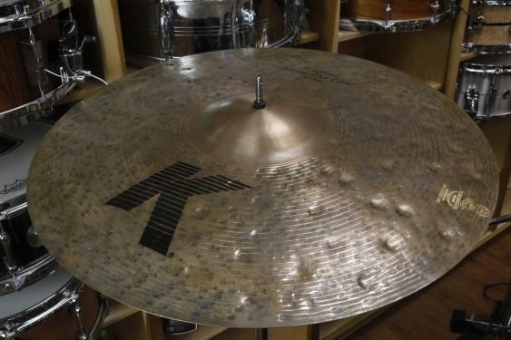"Zildjian 20"" K Custom Special Dry Crash Cymbal-Demo of Exact Cymbal-1595 grams"
