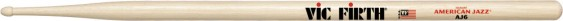 Vic Firth American Jazz® 6 Hickory Drumsticks