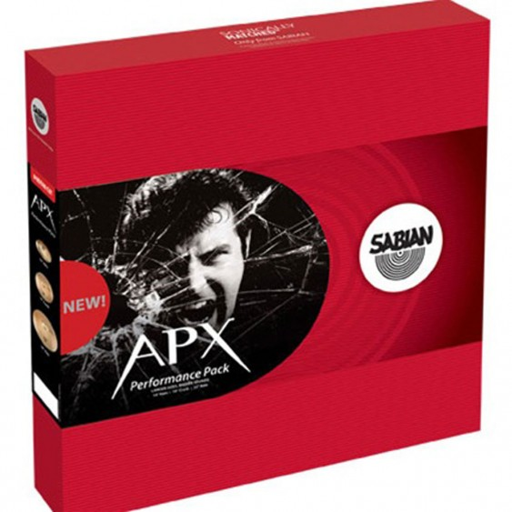 SABIAN APX Performance Cymbal Pack (Larger Sizes)