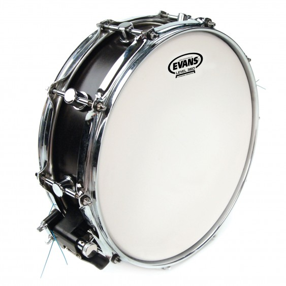 "Evans 14"" Power Center Reverse Dot Drumhead"