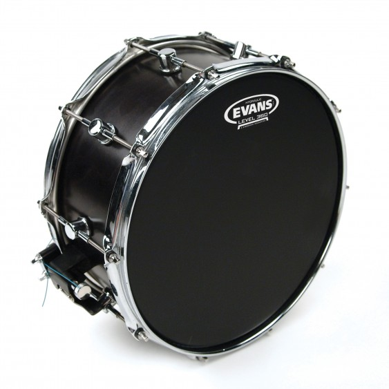 "Evans 14"" Black Coated Hydraulic Drumhead"