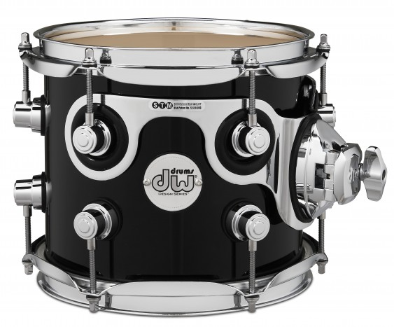 DW Design Series Black Friday Exclusive 7x8 Tom in Piano Black