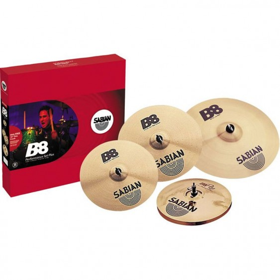SABIAN B8 Promotional Performance Cymbal Pack