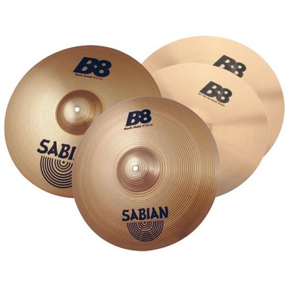 SABIAN B8 Rock Cymbal Set