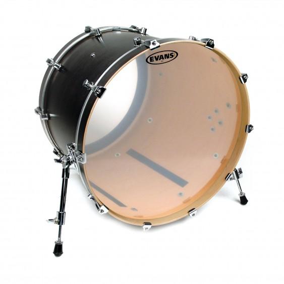 """Evans 18"""" Clear G1 Bass Drumhead"""