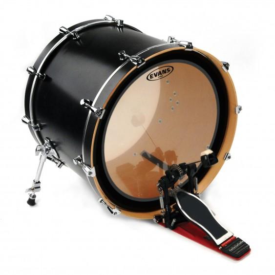 "Evans 18"" Clear GMAD Bass Drumhead"