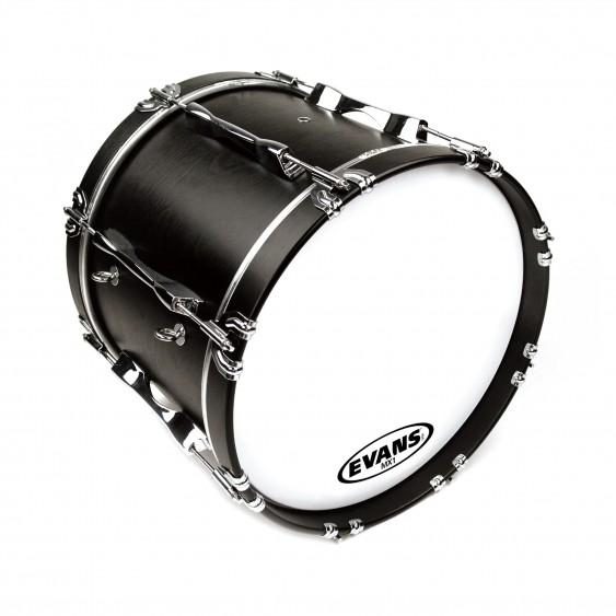"""Evans 20"""" White MX1 Bass Drumhead"""