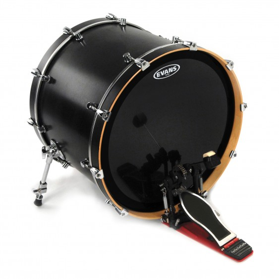 """Evans 22"""" EMAD Onyx Bass Drumhead"""