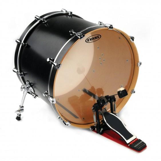 """Evans 22"""" Clear G2 Bass Drumhead"""