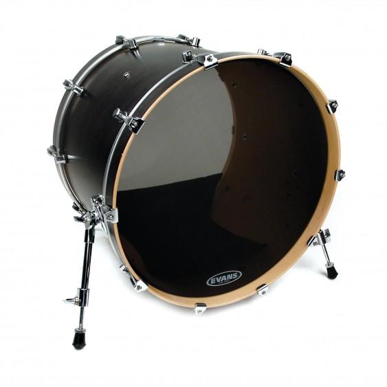 "Evans 22"" Black Retro Screen Bass Drumhead"
