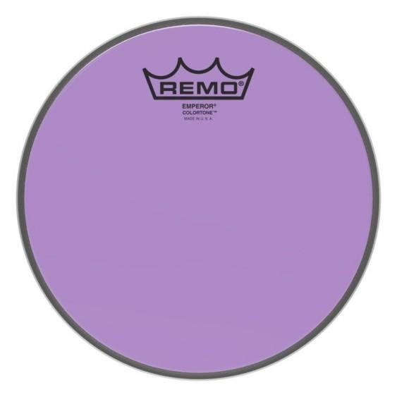 """Remo 12"""" Emperor Colortone Purple Drumhead"""