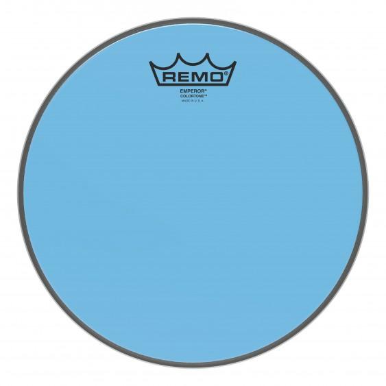 """Remo 10"""" Emperor Colortone Blue Drumhead"""