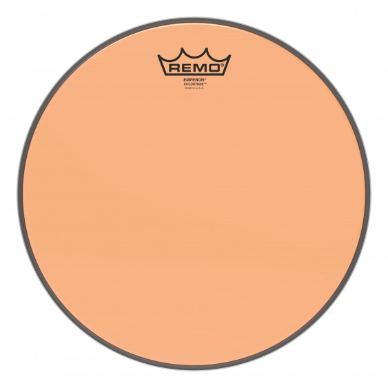 "Remo 12"" Emperor Colortone Orange Drumhead"