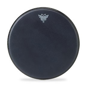 "Remo 13"" Black Suede Ambassador Batter Drumhead"