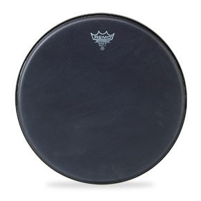 "Remo 14"" Black X Batter Drumhead"