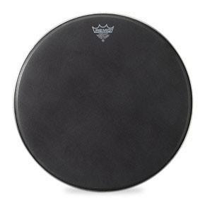 "Remo 20"" Black Suede PowerMax Bass Drumhead"