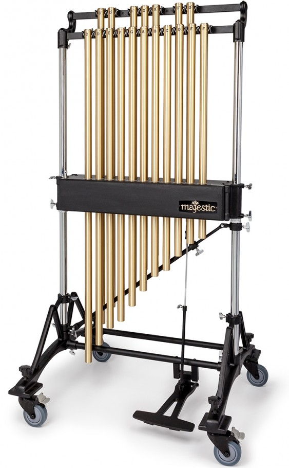 """MAJESTIC 18 NOTE 1.25"""" BRASS CONCERT CHIMES"""