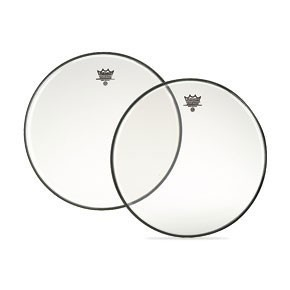 "Remo 16"" Clear Ambassador Bass Drumhead"