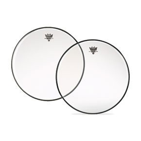 "Remo 9"" Clear Diplomat Batter Drumhead"