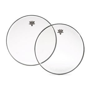 """Remo 17"""" Clear Emperor Batter Drumhead"""