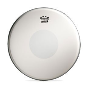 "Remo 12"" Coated Emperor X Batter Drumhead w/ Black Dot Bottom"