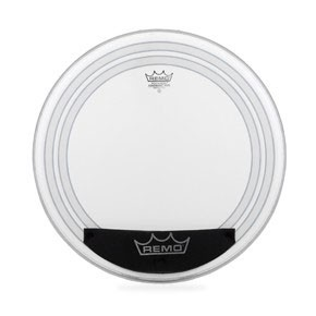 "Remo 24"" Coated Powersonic Bass Drumhead w/ Snap-on dampening system"