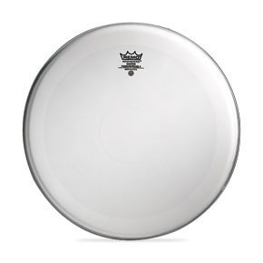 "Remo 18"" Coated Powerstroke 4 Bass Drumhead w/ Falam Patch"