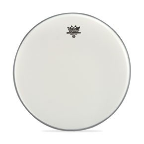 "Remo 18"" Coated Smooth White Ambassador Bass Drumhead"