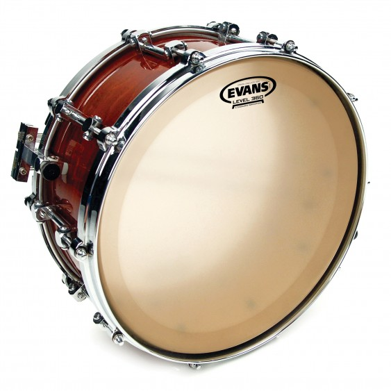 """Evans 14"""" Snare Batter Strata Staccato 1000 Drumhead"""