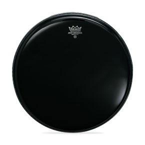 """Remo 20"""" Ebony Ambassador Batter Drumhead"""