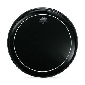 "Remo 15"" Ebony Pinstripe Batter Drumhead"