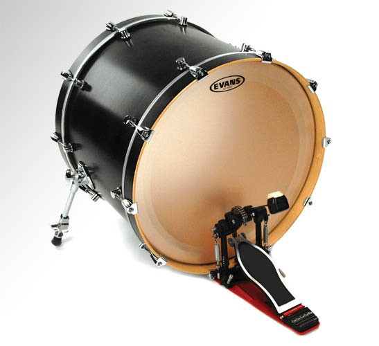 """Evans 22"""" Coated EQ1 Batter Bass Drumhead"""