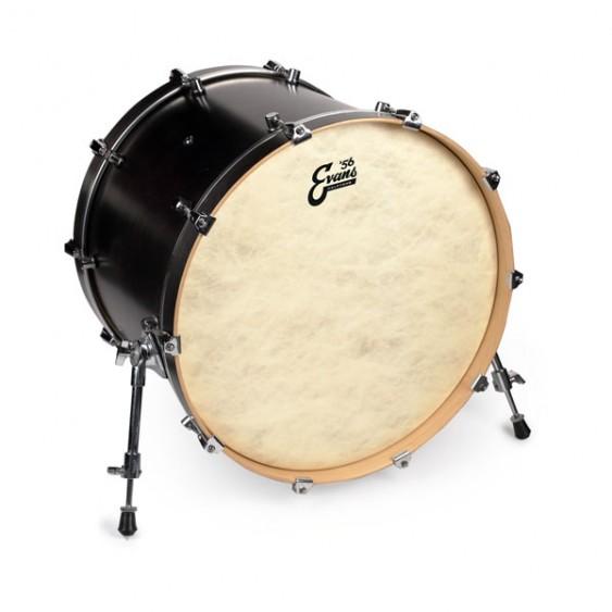 """Evans 22"""" Calftone Bass Drum Head BD22CT"""