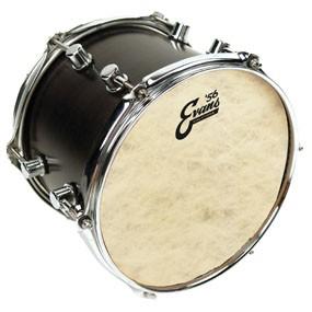 "Evans 14"" Calftone Tom Drumhead"