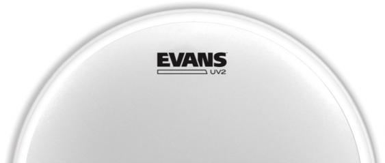 """Evans 18"""" UV2 Coated Drumhead"""