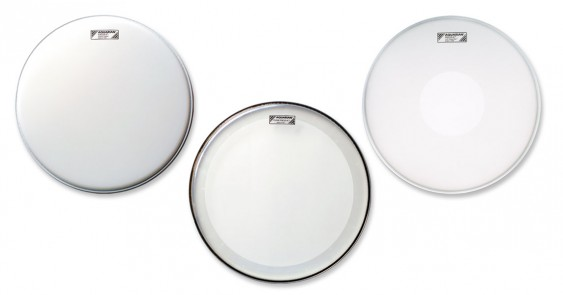 Aquarian 10'',12'',14'' Focus-X Coated w/Power Dot Underneath Drumhead Prepack