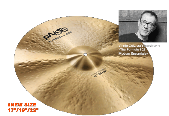 Paiste 18 Formula 602 Modern Essentials Crash