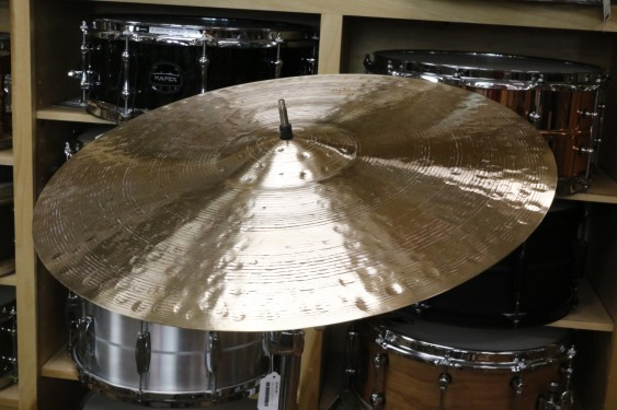 """Meinl 20"""" Byzance Foundry Reserve Light Ride Cymbal-Demo of Exact Cymbal - 2050 grams"""