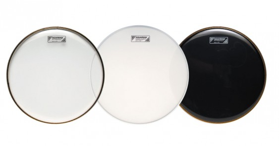 Aquarian 6'' Hi-Frequency Video Gloss Black Drumhead