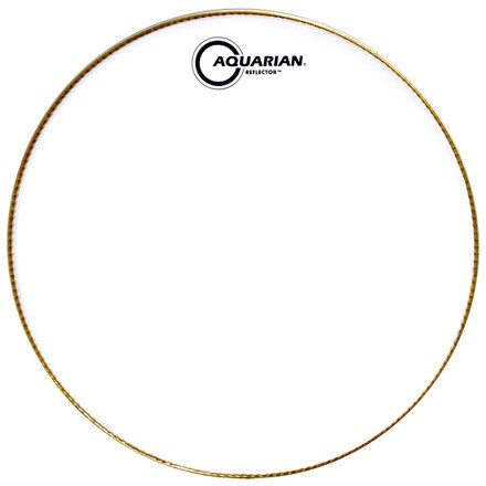 "Aquarian 10"" Ice White Reflector Series Drumhead"