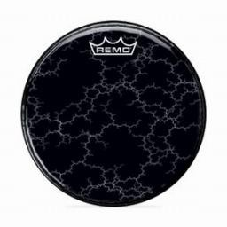 Remo Chromeburst Black Graphic Custom Bass Drumhead