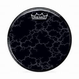 Remo Chromeburst Yellow Graphic Head Custom Bass Drumhead