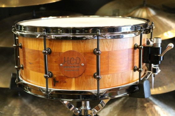 HCD Holloman Custom Cherry Birch 6X14 Snare Drum