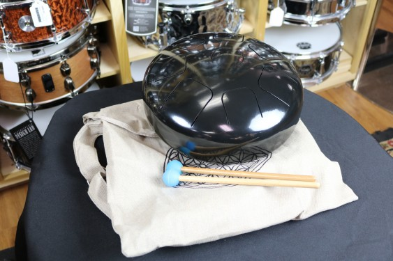 Universal Percussion Cannon Steel 12'' Tongue Drum with case