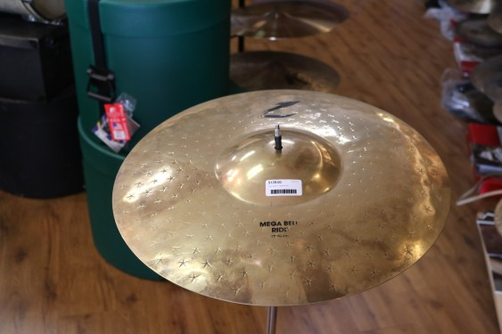 "Used Zildjian 21"" Mega Bell Ride"